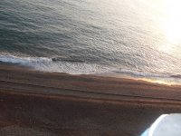 Relax, la playa al atardeder