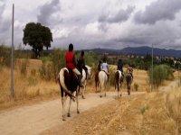 Ruta guiada a caballo por el campo de Las Rozas