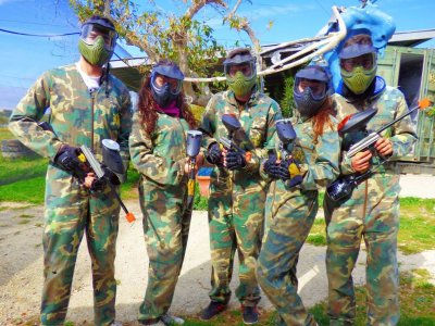 Paintball Game in Estepona 100 paintballs