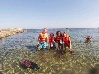 Snorkel en familia en Cartagena
