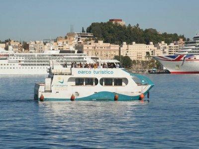 Excursión panorámica en barco Mar Menor 5 islas