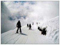 esqui de fondo con la familia