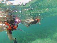 浮潜中欣赏地中海