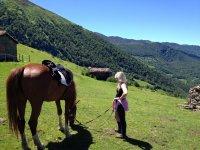 Un agradable día a caballo