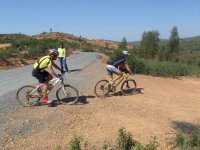 bicicleta en la sierra