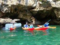 Fun in kayaking