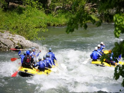 Rafting con Ranasella a Cangas de Onis