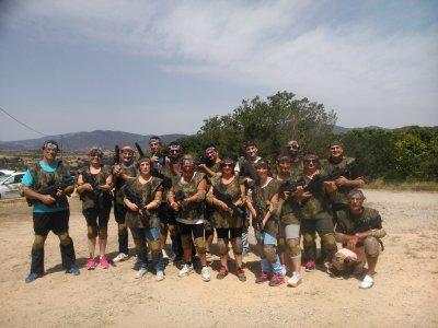 Team building con combattimento laser Caldes de Montbui