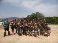 团队建设与激光战斗Caldes de Montbui