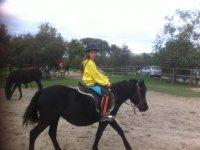 Qualsiasi età va bene per una lezione di equitazione