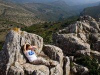 Descansando en la cresta
