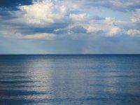 Il mare in una giornata calma