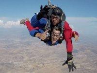 Tandem jump over Granada