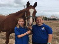 Campamento de equitación en Sanlúcar de Barrameda
