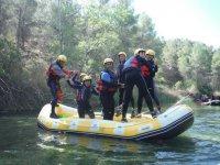 Rafting para empresas