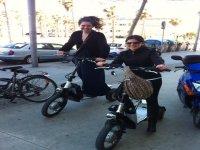 在巴塞罗那的自行车路线