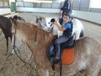 骑马的小骑士