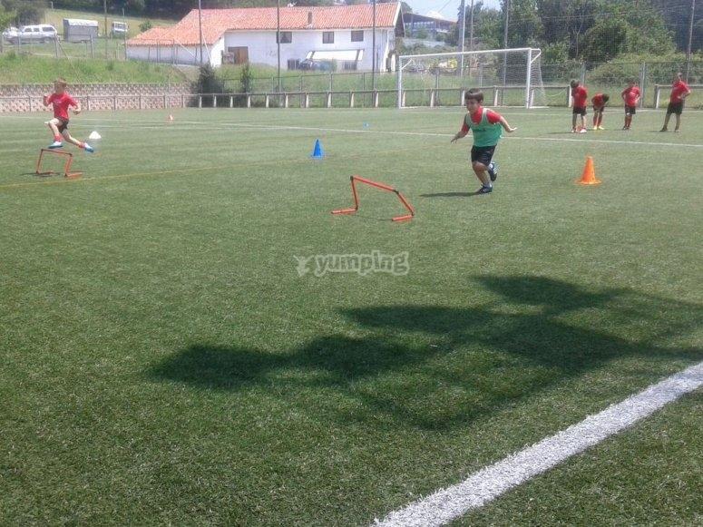 Entrenando las capacidades en el campo