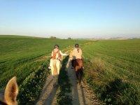Sanlúcar的骑马日