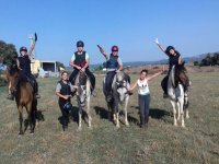 Riding group in Albons