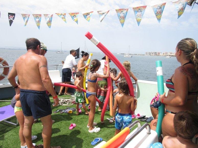 Bambini più grandi in FerryMarMenor