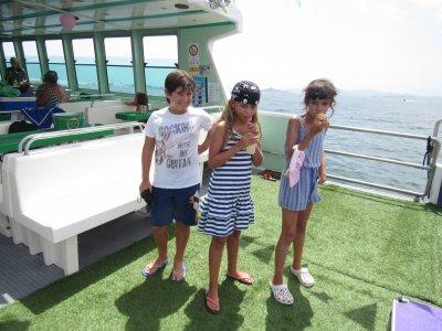 Festeggia una comunione in barca Mar Menor 1 ora