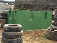 Paintball estructures in La Orotava