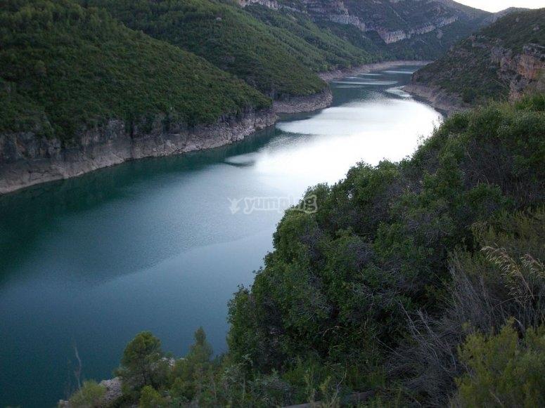 Noguera river