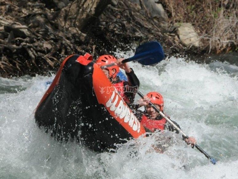 Con cuidado de no volcar la canoa