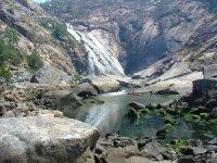 Preciosos entornos naturales el río Xallas
