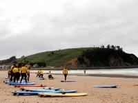 Surfcamp en Ribadesella para niños en verano