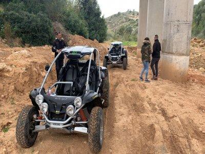 Ruta en buggy doble desde Alcossebre 90 minutos