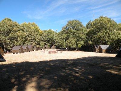 Campamento multiaventura en Sierra de San Vicente