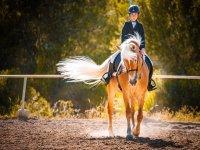 Práctica de equitación en Benidorm