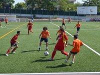 Campus di calcio con inglese