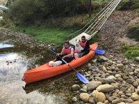 Discesa del Sella in canoa per tutta la famiglia