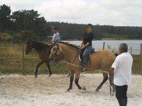 Aprendiendo a dominar el caballo
