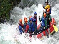 Rafting drops