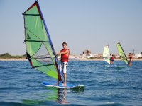 Learn all the secrets of windsurfing