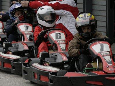 Gran Premio karting infantil Osona a 12 vueltas