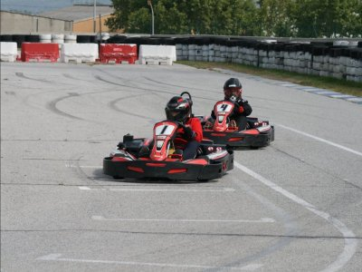 Pilotar un kart Circuito de Osona Senior 20 min