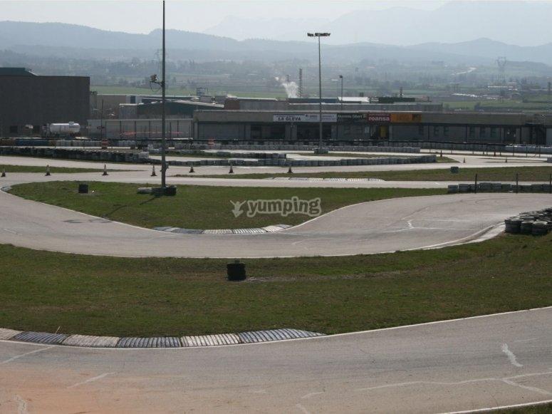 El circuito para el GP de Vic