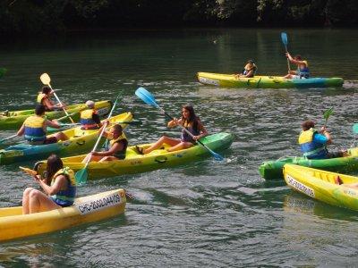 Descenso canoas Buelles Unquera