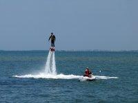 Ascendiendo sobre el mar