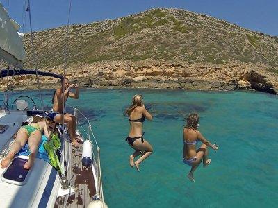 Playa de Palma 4h的帆船游览