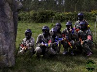 Soldados de paintball