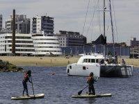 Praticare il paddle surf