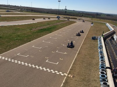 Karting Session For Adults in Talavera la Real