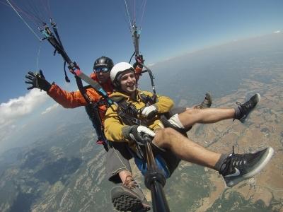 20-Minutes Paraglide Flight in Igualada