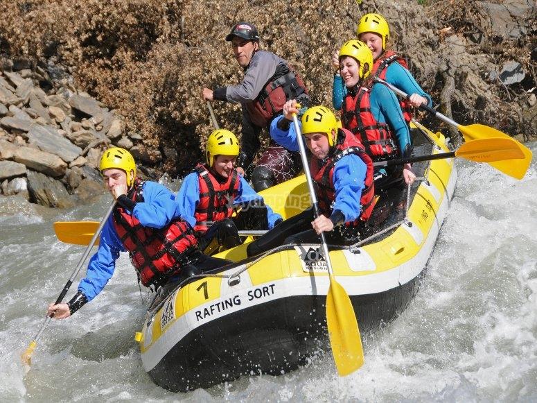 Actividad de rafting